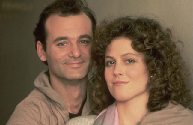 Ghostbusters Sigourney Weaver and Bill Murray