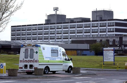 The Royal Preston Hospital Preston Lancs.