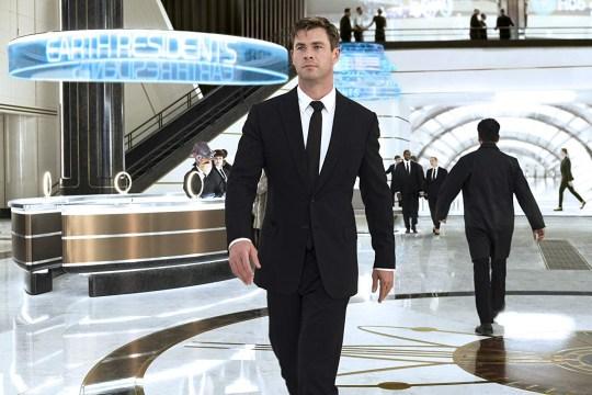 Men In Black's Chris Hemsworth