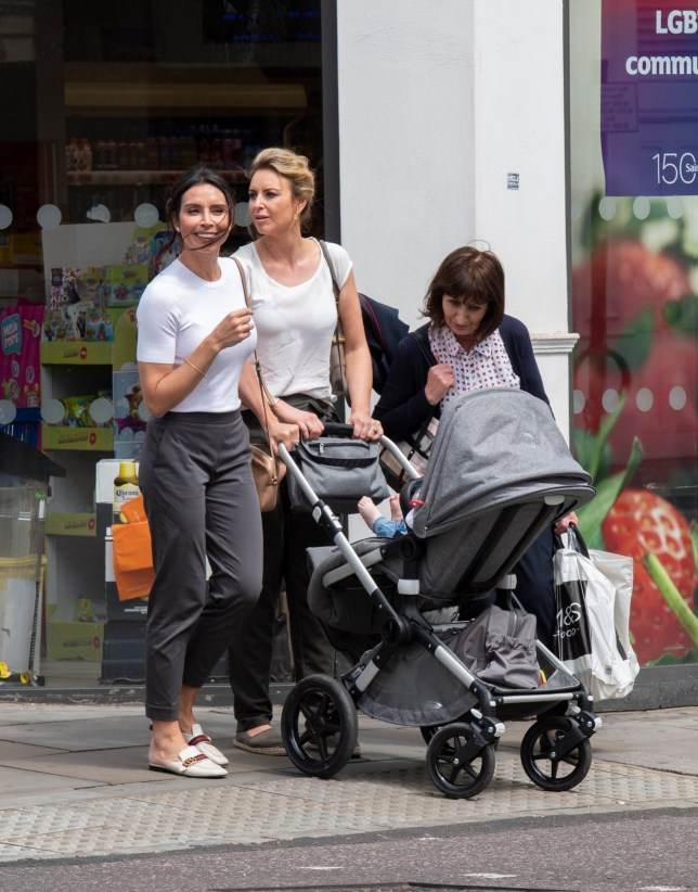 BGUK_1618678 - *EXCLUSIVE* London, UNITED KINGDOM - **No Mail Online or Sun Online** **No Subscriptions** Christine Lampard beams as she enjoys a girls day out with sister Nicola Bleakley, mother Mina Bleakley and daughter Patricia. She went to M&S to pick up some supplies Pictured: Christine Lampard, Mina Bleakley, Nicola Bleakley, Patricia Lampard BACKGRID UK 9 JUNE 2019 BYLINE MUST READ: MJ Pictures / BACKGRID *STRICTLY NOT AVAILABLE FOR ANY SUBSCRIPTION DEALS* UK: +44 208 344 2007 / uksales@backgrid.com USA: +1 310 798 9111 / usasales@backgrid.com *UK Clients - Pictures Containing Children Please Pixelate Face Prior To Publication*