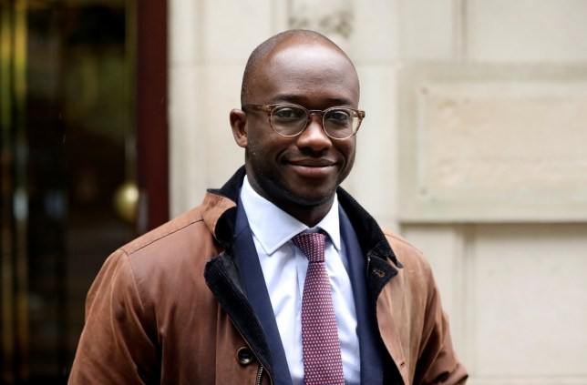 Former British Universities Minister Sam Gyimah is seen in Westminster, London, Britain June 10, 2019. REUTERS/Simon Dawson