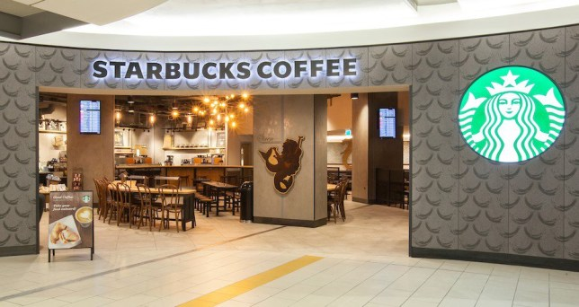 Picture of Starbucks entrance