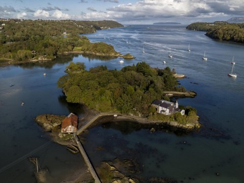 A small island in Menai Bridge, Wales, is being sold for a mere £1million