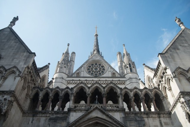 View of The Royal Court Of Justice, London on July 25, 2017. It has became the scene of the legal dispute about Charlie Gard's illness. The High Court deals at first instance with all high value and high importance cases, and also has a supervisory jurisdiction over all subordinate courts and tribunals, with a few statutory exceptions. It has three main divisions: the Queen's Bench Division, the Chancery Division, and the Family Division. (Photo by Alberto Pezzali/NurPhoto via Getty Images)