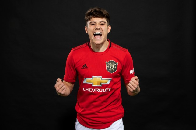Manchester United has completed his £18m move to Manchester United