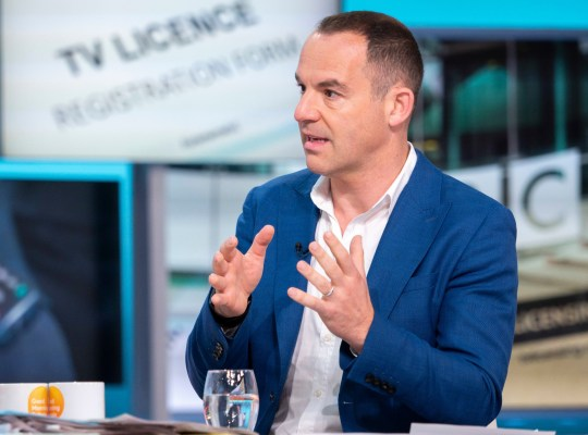 Editorial use only Mandatory Credit: Photo by S Meddle/ITV/REX (10303649p) Martin Lewis 'Good Morning Britain' TV show, London, UK - 13 Jun 2019