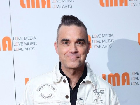 Robbie Williams reunited with his kids in Las Vegas and it's adorable