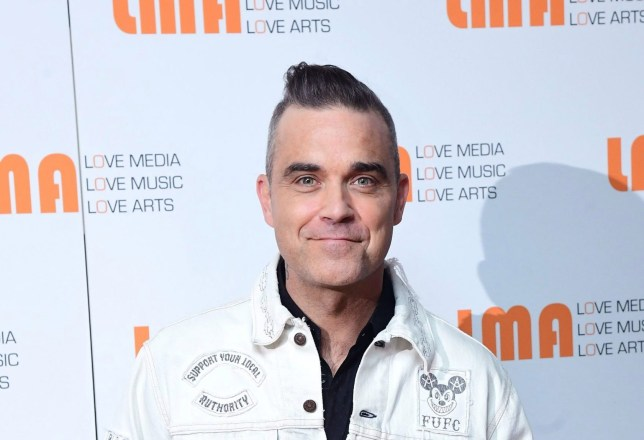 Robbie Williams at White City House