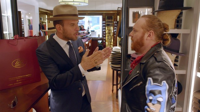 Keith Lemon and Matt Goss got paralytic drunk BTS and ended up in tears filming new show