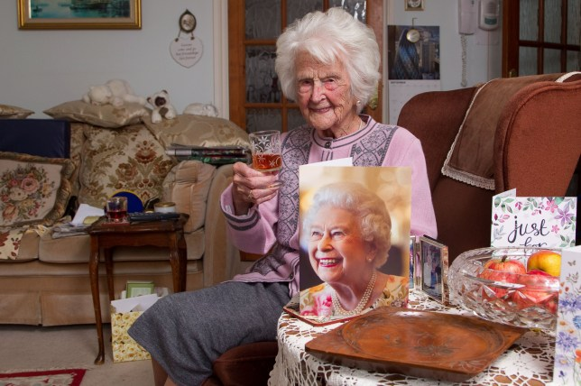 FILE PICTURE - Grace Jones. See SWNS story SWMDgrace. Grace Jones, known to her friends as Amazing Grace, died peacefully in her sleep at her home in Pegasus Court, Broadway, on Friday, June 7, her family have announced. Mrs Jones, who was born on September 16, 1906, lived to see five monarchs and 21 prime ministers, surviving two world wars. Mrs Jones took the title of the oldest UK person last summer after the previous oldest person, Olive Boar's death.
