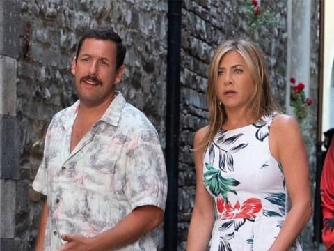 Jennifer Aniston and Adam Sandler's new comedy Murder Mystery breaks Netflix records