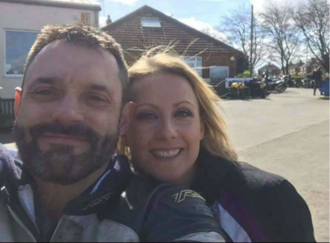 THE family of a couple who died together in a motorbike accident have posted a selfie the pair took 20 minutes before tragedy struck. The heartbreaking snap of Lee-Anne Parkin and Steve Carroll was posted as part of a petition to get the government to publicly fund air ambulance services. Steve was killed outright but a helicopter, funded by charity, took Lee-Anne to hospital where she died a week later. Family of the couple have managed to get 90,000 signatures for a petition which calls on the life-saving service to be funded from the public purse. Lee-Anne, a 40-year-old mum-of-two, and Steve, 43, posed for the picture at a cafe in Driffield, East Yorkshire, on March 31 this year. Twenty minutes later their bike collided with a car on a nearby B road. Lee-Anne's sister, Bethany Billington, from Wakefield, West Yorkshire, set up the petition on May 1. On Wednesday, she posted the selfie together with the news the petition had hit 50,000 signatures. Today it reached 90,000.
