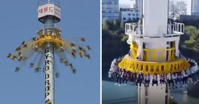 Terrifying park ride that everyone is sharing is actually fake