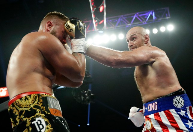 Tyson Fury is back in action in October