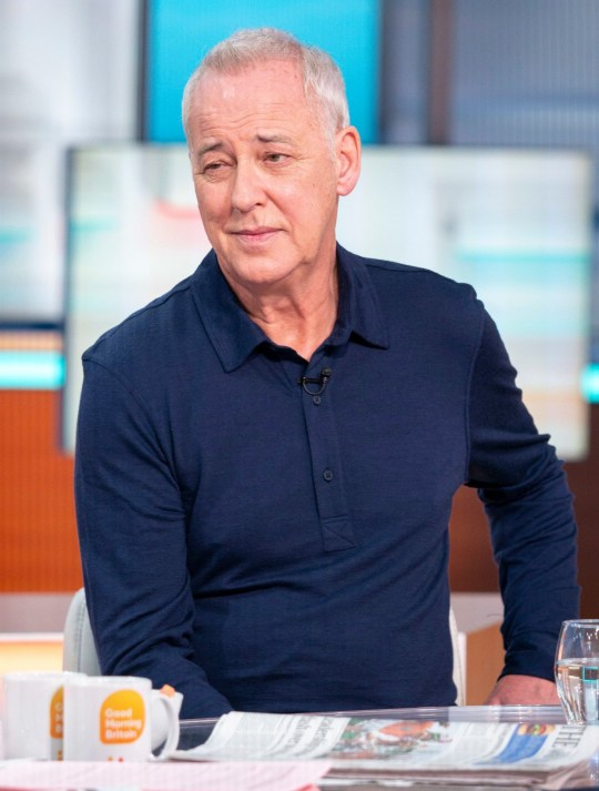 Editorial use only Mandatory Credit: Photo by S Meddle/ITV/REX (10312241c) Michael Barrymore 'Good Morning Britain' TV show, London, UK - 17 Jun 2019