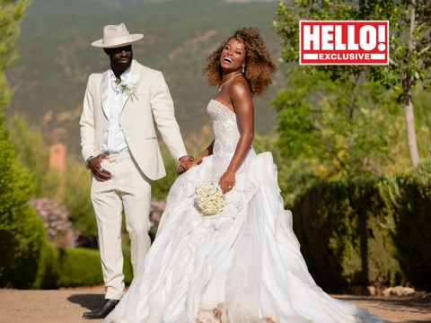 Fleur East is a stunning bride in first pictures from 'amazing' Moroccan wedding