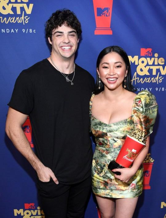 Noah Centineo and Lana Condor win MTV Movie and TV Awards
