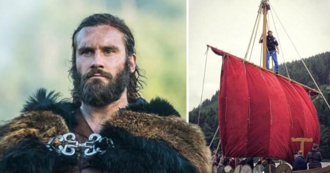 Clive Standen shares Vikings season 1 throwback