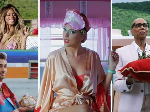 What celebs were in the video for Taylor Swift's You Need To Calm Down?