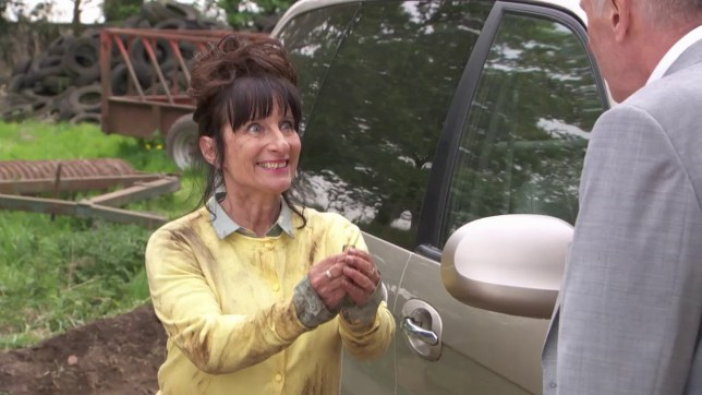 Hollyoaks: Brenda proposes to Jack with Louis' ring Picture: channel 4 supplied to metro.co.uk