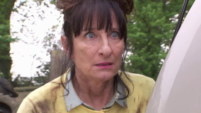 Moya Brady as Breda McQueen in Hollyoaks