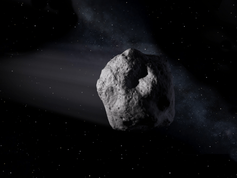 Nasa has changed its mind about the risk posed by small and mid-sized asteroids