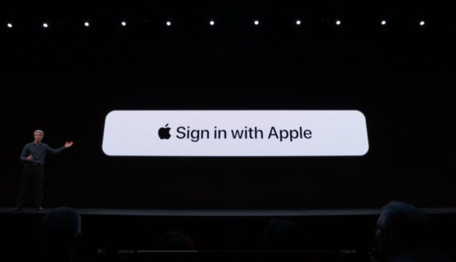 Apple's Craig Federighi announced the new feature on stage at WWDC (Apple)
