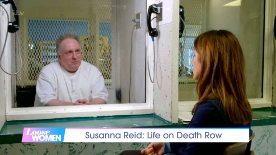 Susanna Reid spoke to Patrick Murphy - a notorious member of the Texas 7 gang