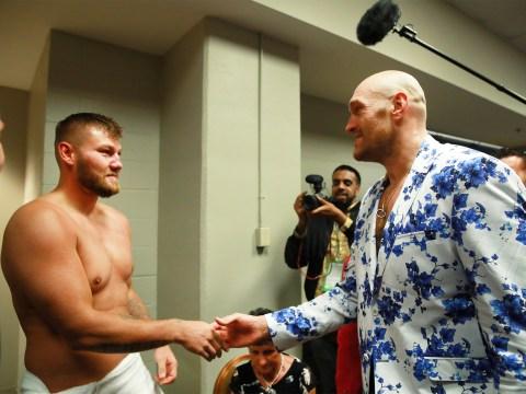 Tyson Fury praises Tom Schwarz for refusing to quit like Anthony Joshua