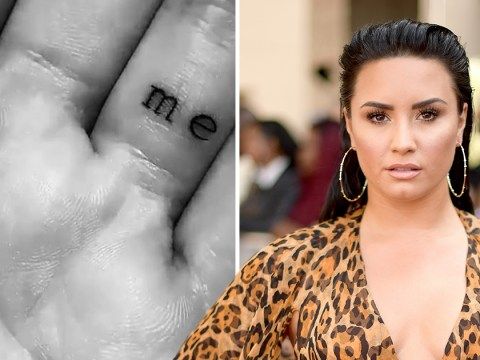 Demi Lovato unveils her latest tattoo and reveals it's very important meaning