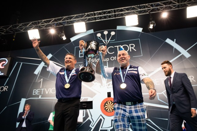 Gary Anderson and Peter Wright