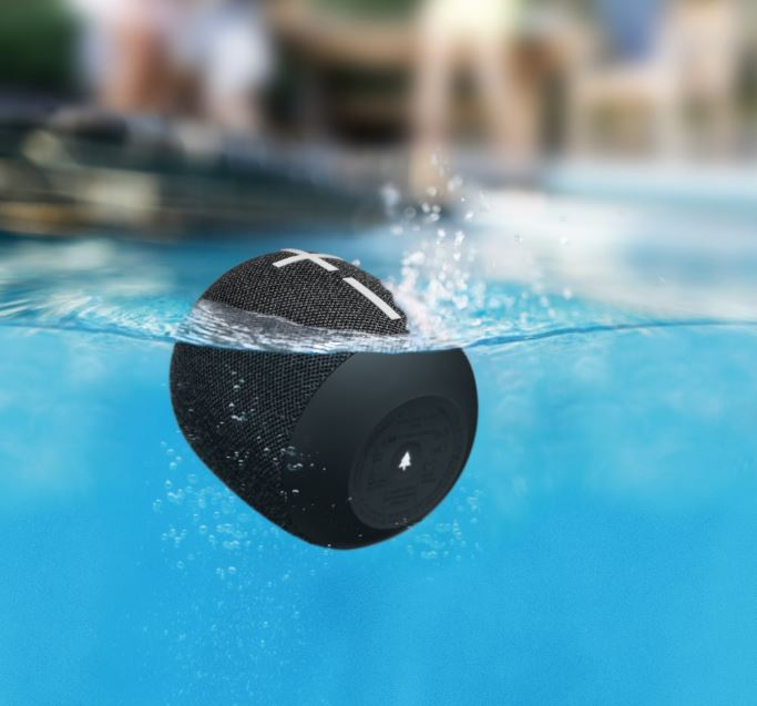 The WonderBoom 2 is IP67 H2O and mud explanation and floats in H2O (IE)