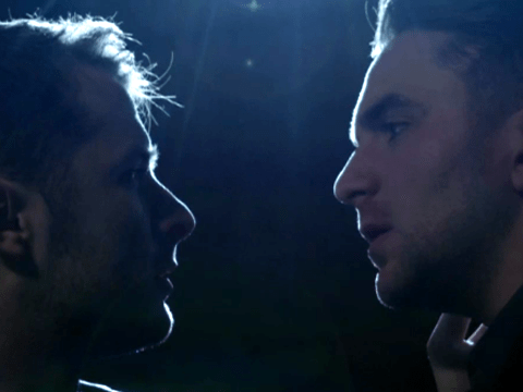 EastEnders stars Max Bowden and Tony Clay got beard rash after 'going at it' for hours