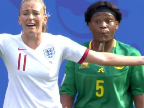 Toni Duggan speaks out on 'craziest' match after being spat on by Cameroon player Augustine Ejangue