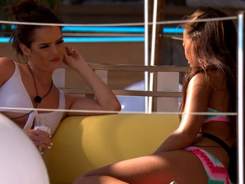 Love Island's Elma Pazar confronts Maura Higgins over Tom Walker in first look at tonight's episode