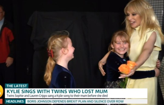 Kylie Minogue fans on Good Morning Britain