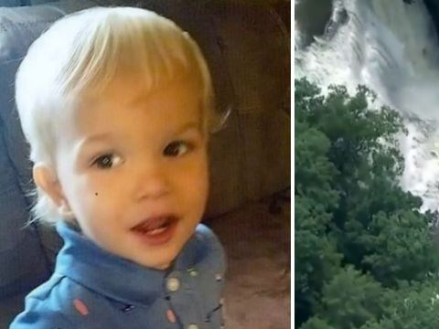 Boy, 2, swept from his dad's arms to his death after flash flood inundates park