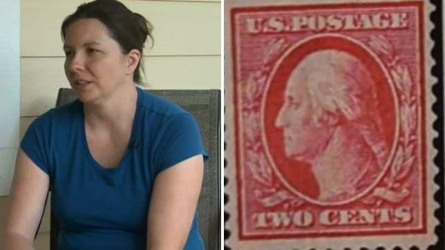 Jennifer Hall, Stamp, Rocky Mountain Philatelic Library, Denver, Colorado