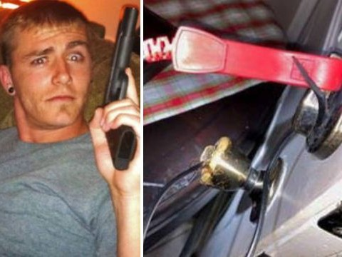 Man hooked up live wires to door knob to electrocute pregnant wife