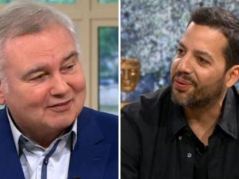 David Blaine and Eamonn Holmes reunite on screen 18 years after painful iconic interview
