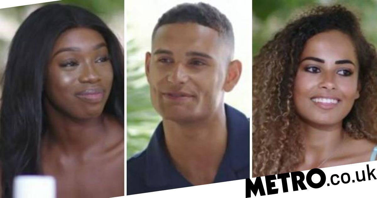 Love Island 2019 Amber Joins Yewande's Date With Danny In