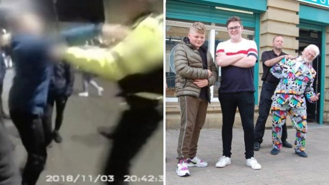 The video campaign was spurred by violent scenes in Stanley, Durham, last year