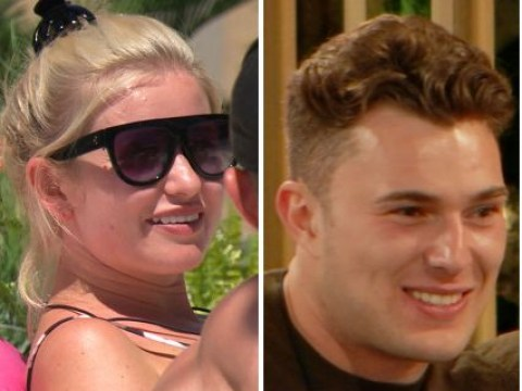 Love Island's first love triangle emerges as Curtis Pritchard gets cracking with Yewande Biala and Amy Hart