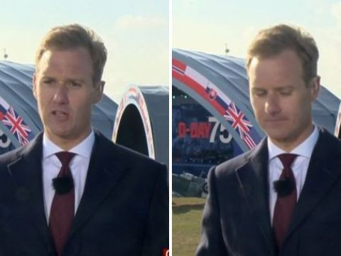 BBC Breakfast's Dan Walker gets emotional on air as he delivers passionate D-Day tribute