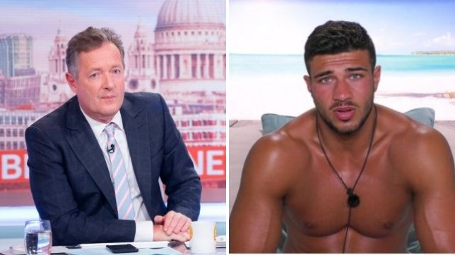 Piers Morgan brands Love Island's Tommy Fury a 'halfwit' after he couldn't make a cup of tea