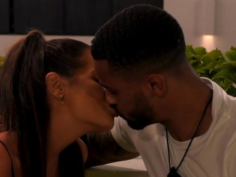 Love Island's Maura Higgins shares a passionate kiss with new boy Dennon Lewis