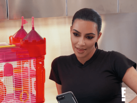 Kim Kardashian finds North West's hamster dead – and she's not impressed