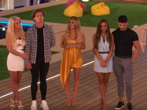 Love Island's first look shows Caroline Flack breaking double dumping news – as Joe Garratt is fave to be axed