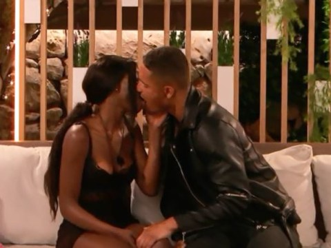 Love Island's Yewande Biala and Danny Williams kiss for the first time to delight of Islanders