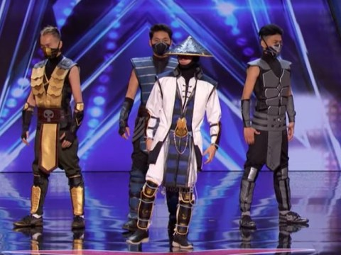 Mortal Kombat dance crew take over America's Got Talent with incredible body-bending routine